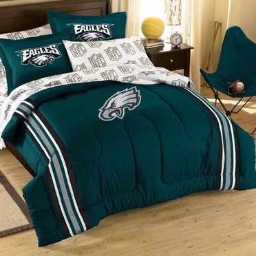 Philadelphia Eagles Twin Comforter and Shams Set