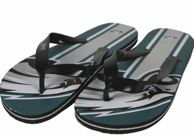 Philadelphia Eagles Unisex Big Logo Flip Flops