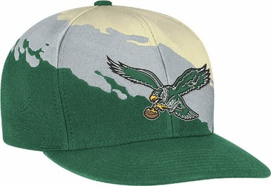 Philadelphia Eagles Vintage Paintbrush Snap Back Hat