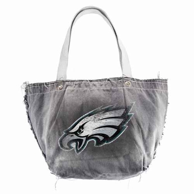 Philadelphia Eagles Vintage Tote (Black)