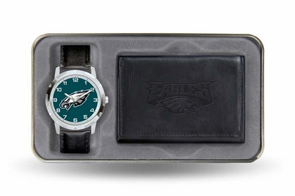 Philadelphia Eagles Watch and Wallet Gift Set