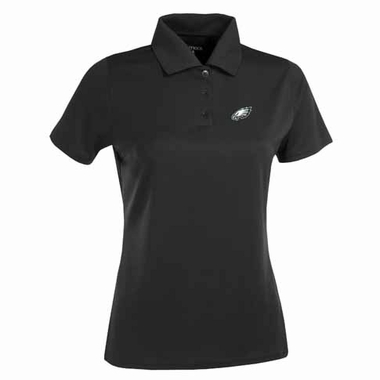Philadelphia Eagles Womens Exceed Polo (Team Color: Black)