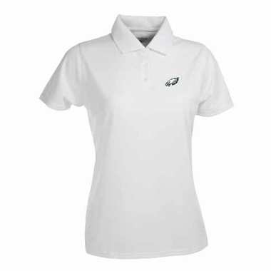 Philadelphia Eagles Womens Exceed Polo (Color: White)