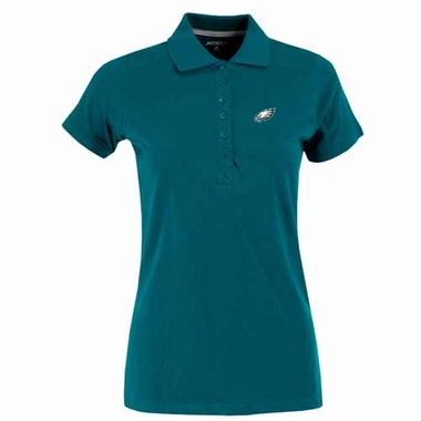 Philadelphia Eagles Womens Spark Polo (Team Color: Teal)