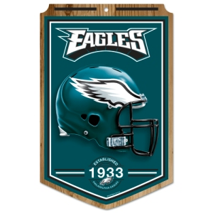 Philadelphia Eagles Wood Sign
