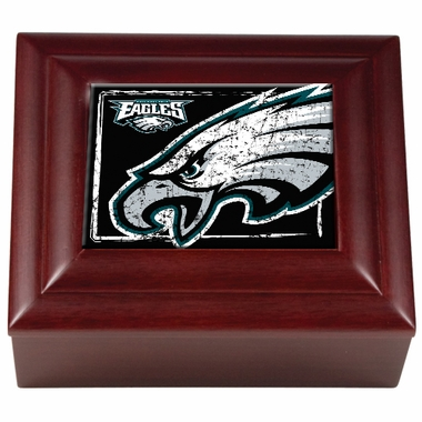 Philadelphia Eagles Wooden Keepsake Box