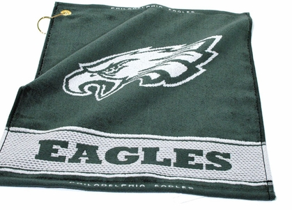 Philadelphia Eagles Woven Golf Towel