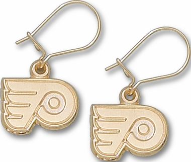 Philadelphia Flyers 14K Gold Post or Dangle Earrings
