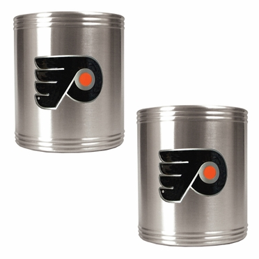 Philadelphia Flyers 2 Can Holder Set