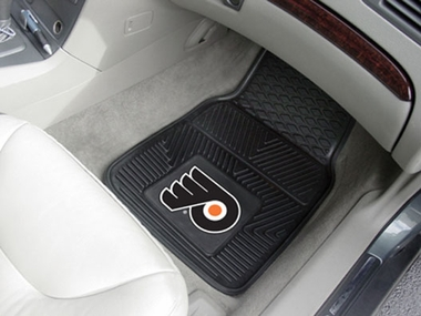 Philadelphia Flyers 2 Piece Heavy Duty Vinyl Car Mats