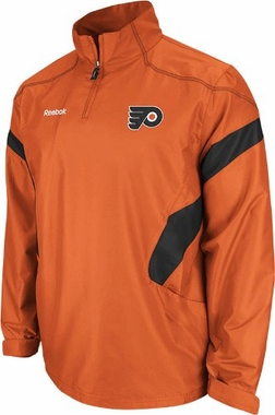 Philadelphia Flyers 2011 Center Ice Black 1/4 Zip Hot Jacket
