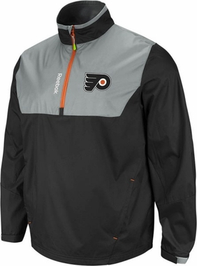Philadelphia Flyers 2012 1/4 Zip Performance Hot Jacket