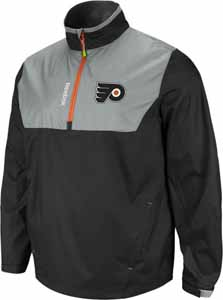 Philadelphia Flyers 2012 1/4 Zip Performance Hot Jacket - Medium