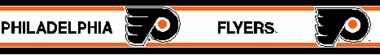 Philadelphia Flyers 5.5 Inch (Height) Wallpaper Border