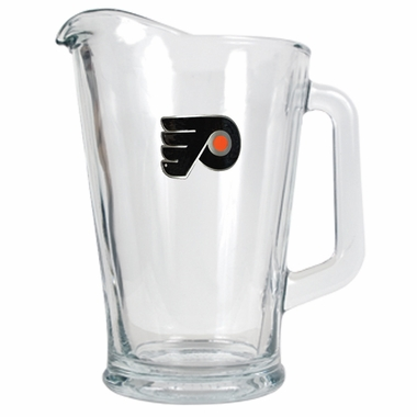 Philadelphia Flyers 60 oz Glass Pitcher