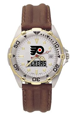 Philadelphia Flyers All Star Mens (Leather Band) Watch
