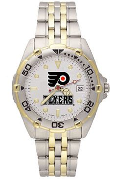 Philadelphia Flyers All Star Mens (Steel Band) Watch