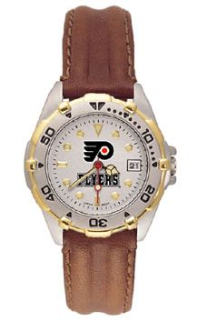 Philadelphia Flyers All Star Womens (Leather Band) Watch