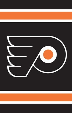 Philadelphia Flyers Applique Banner Flag