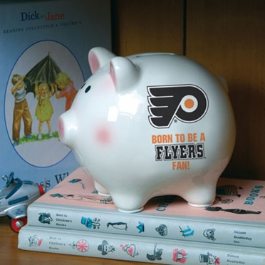 Philadelphia Flyers (Born to Be) Piggy Bank