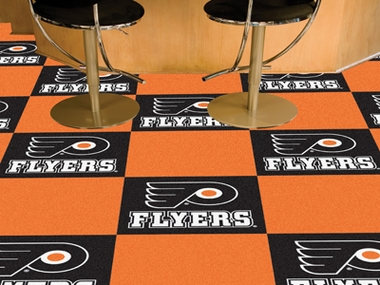 Philadelphia Flyers Carpet Tiles