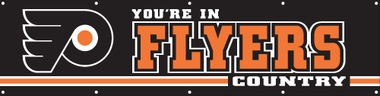Philadelphia Flyers Eight Foot Banner