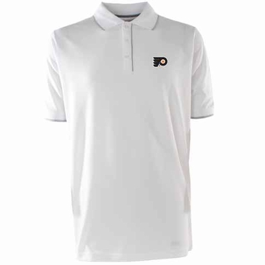 Philadelphia Flyers Mens Elite Polo Shirt (Color: White)