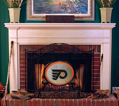Philadelphia Flyers Fireplace Screen
