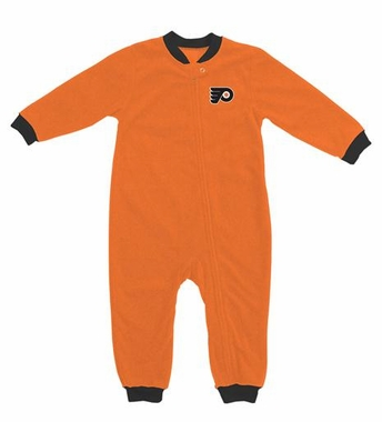 Philadelphia Flyers Fleece Toddler Sleeper Pajamas