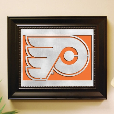 Philadelphia Flyers Framed Laser Cut Metal Wall Art