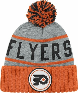 Philadelphia Flyers High 5 Vintage Cuffed Pom Hat