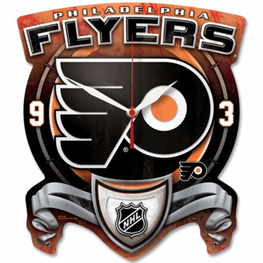 Philadelphia Flyers High Definition Wall Clock