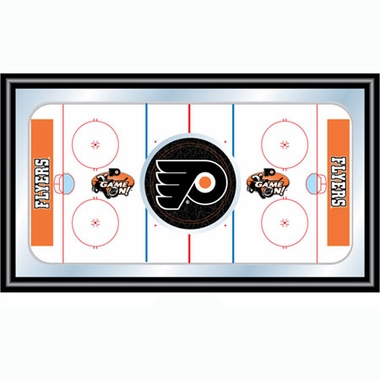 Philadelphia Flyers Hockey Bar Mirror