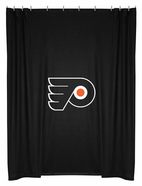 Philadelphia Flyers Jersey Material Shower Curtain