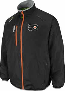 Philadelphia Flyers Kinetic Rink Full Zip Jacket - Medium