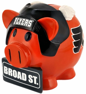 Philadelphia Flyers Piggy Bank - Thematic Large