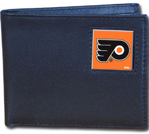 Philadelphia Flyers Leather Bifold Wallet