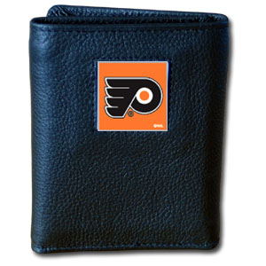 Philadelphia Flyers Leather Trifold Wallet (F)