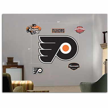 Philadelphia Flyers Logo Fathead Wall Graphic