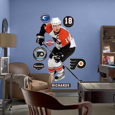 Philadelphia Flyers Mike Richards Fathead Wall Graphic