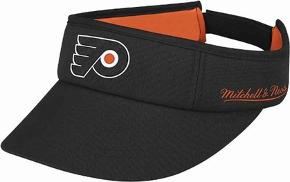 Philadelphia Flyers Mitchell & Ness Throwback Adjustable Summer Visor