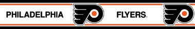 Philadelphia Flyers Peel and Stick Wallpaper Border