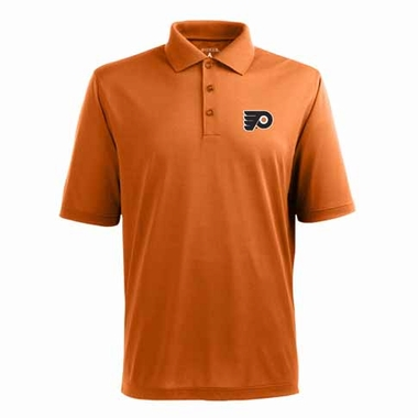 Philadelphia Flyers Mens Pique Xtra Lite Polo Shirt (Alternate Color: Orange)
