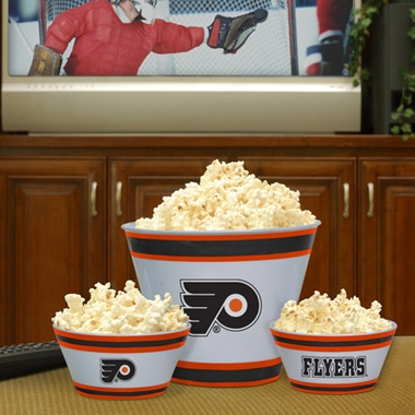 Philadelphia Flyers Plastic Serving Set