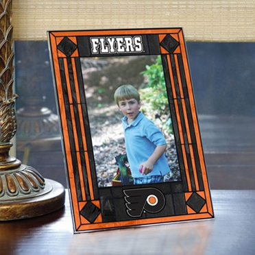 Philadelphia Flyers Portrait Art Glass Picture Frame