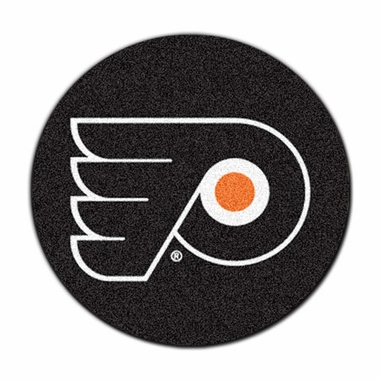 Philadelphia Flyers 27 Inch Puck Shaped Rug