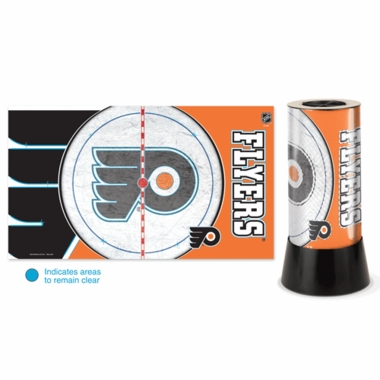 Philadelphia Flyers Rotating Lamp