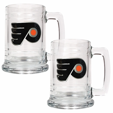 Philadelphia Flyers Set of 2 15 oz. Tankards