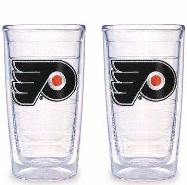 Philadelphia Flyers Set of TWO 16 oz. Tervis Tumblers