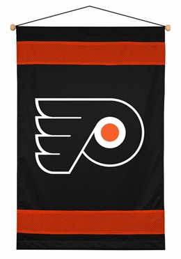 Philadelphia Flyers SIDELINES Jersey Material Wallhanging